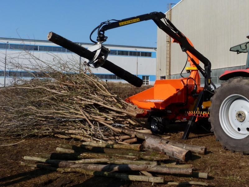 teknamotor - skorpion 500 rb 碎木机与碎柴机