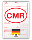 国际托运单 CMR (english & deutsch)